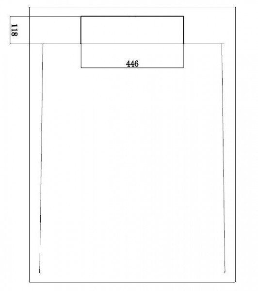 Mineralguss Duschtasse Duschwanne PB3085 - Weiß matt - 120x90x3,5cm  zoom thumbnail 3