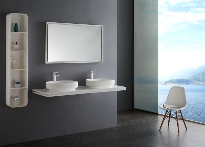 LED Lichtspiegel Badspiegel 2115 - Breite wählbar