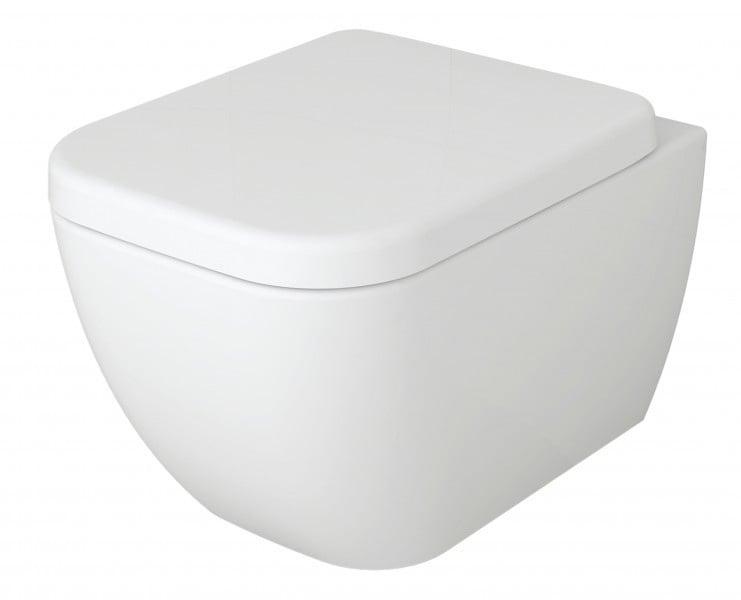 Spülrandloses Wand-Hänge-WC 101R - Inkl. Soft-Close-Deckel