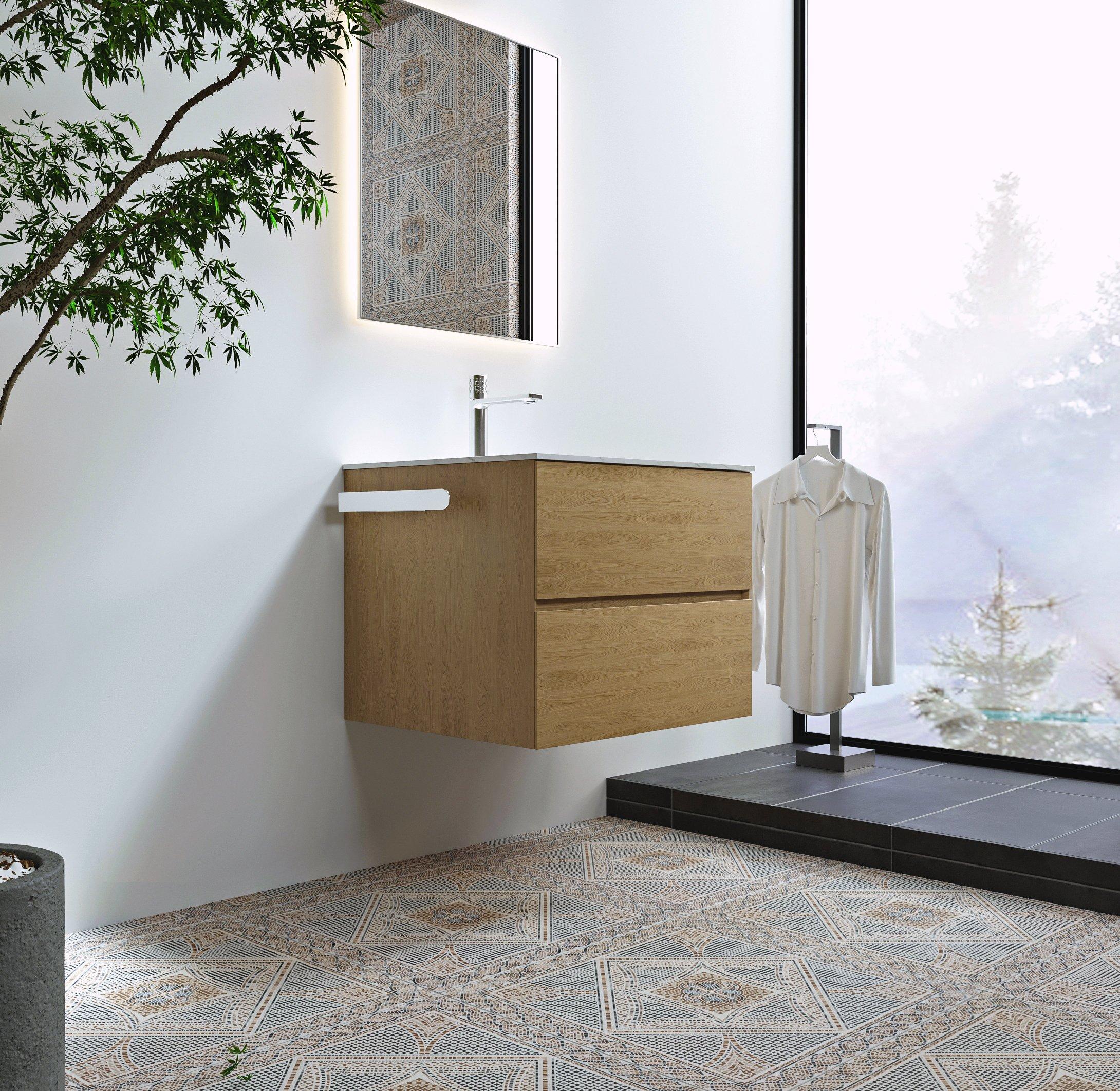 Selbstklebender Handtuchhalter HH35 Korpusmontage für Badmöbel - Farbe wählbar zoom thumbnail 5