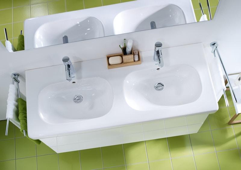 Duravit Ketho Badmöbel Set 1150 mit D-Code Doppel-Waschtisch - Optional mit Seitenschrank und Spiegel  zoom thumbnail 3
