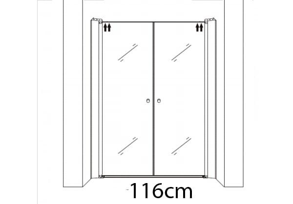 116cm