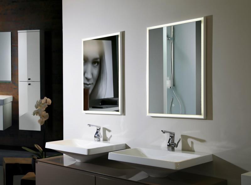 LED Lichtspiegel Badspiegel 2115 - Breite wählbar zoom thumbnail 3