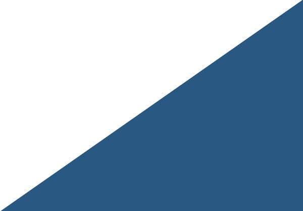 Blau / Weiß Hochglanz
