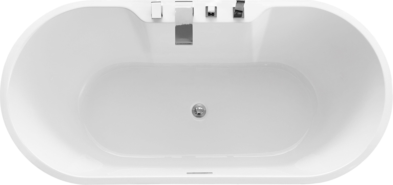 Freistehende Badewanne JAZZ PLUS Acryl weiß - 170 x 80 cm  zoom thumbnail 6