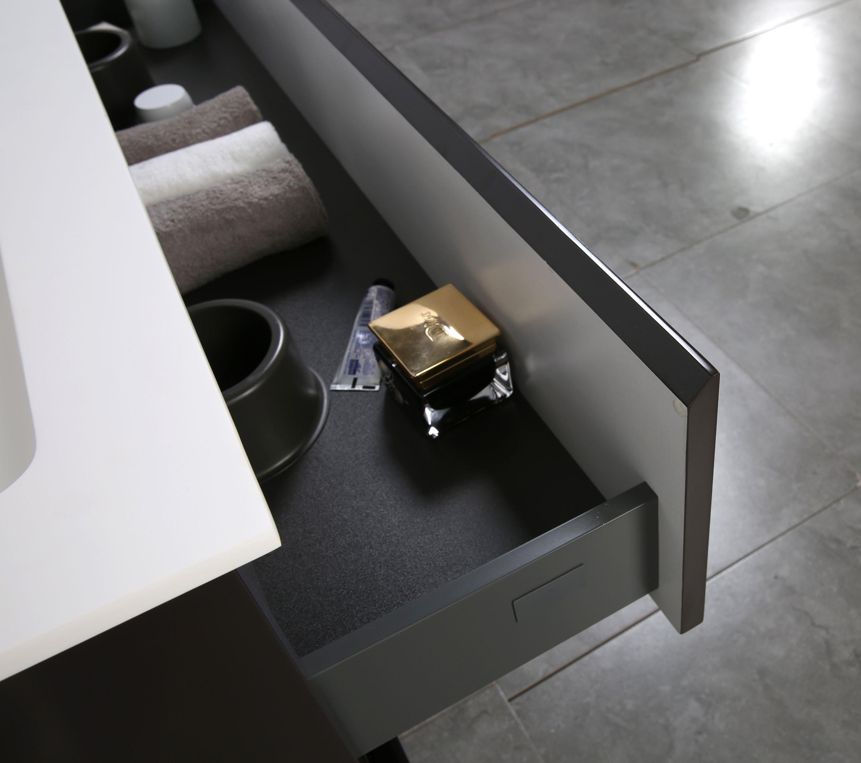 Badmöbel-Set Alice 1200 Coffee matt - Spiegel optional zoom thumbnail 3