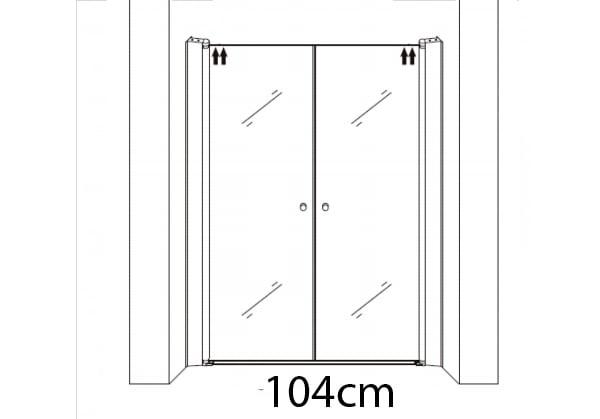 104cm