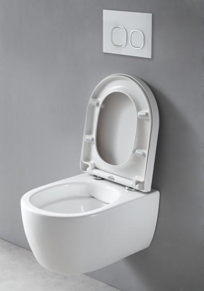 Spülrandloses Wand-Hänge WC NANO NT2039 - inkl. Softclose-Deckel zoom thumbnail 5