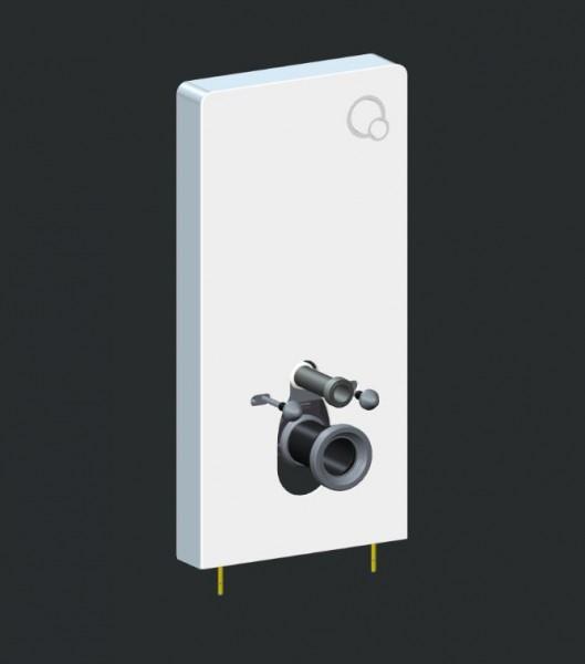 Sanitärmodul 805 für Wand-WC - Weiß - Inkl. Betätigungsplatte