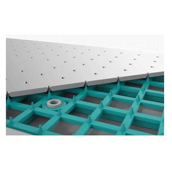 Regendusche ABS-Duschkopf D2250 selbstreinigend - 22,50 cm rund - Farbe wählbar zoom thumbnail 4