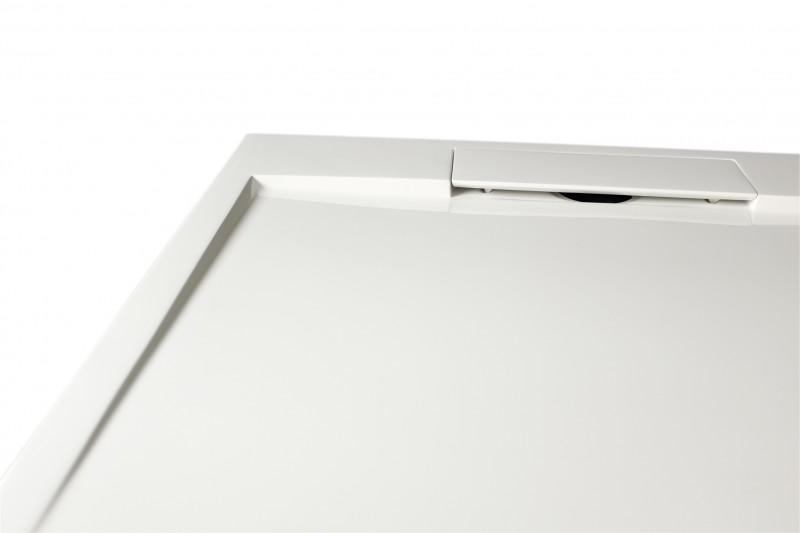 Mineralguss Duschtasse quadratisch M9090CW / PB3087G  - Weiß glänzend - 90x90x3,5cm zoom thumbnail 3