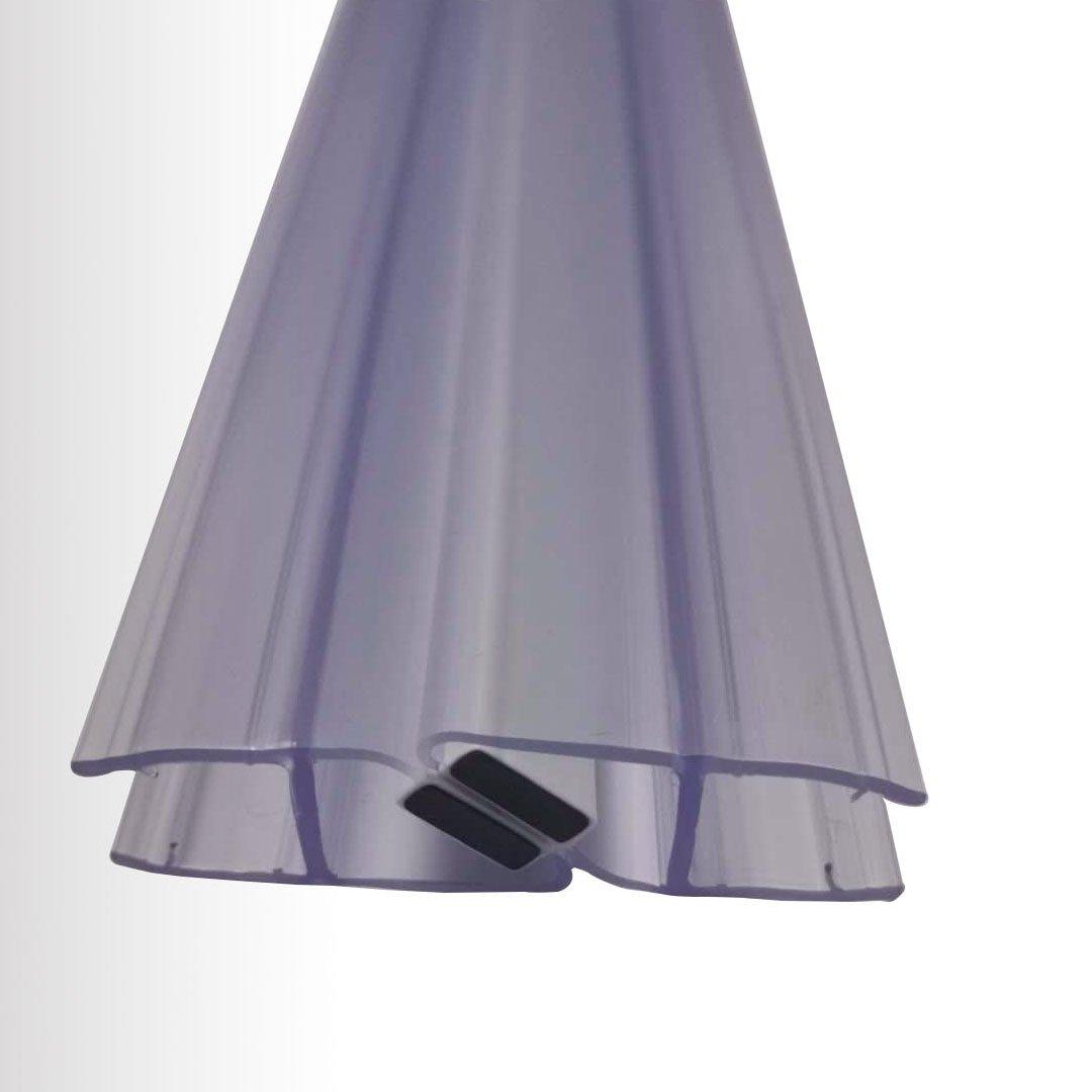 Duschdichtung Magnetdichtung (1 Paar) - für BERNSTEIN Duschkabinen EX213, EX506, EX802 - Glasstärke 6 mm