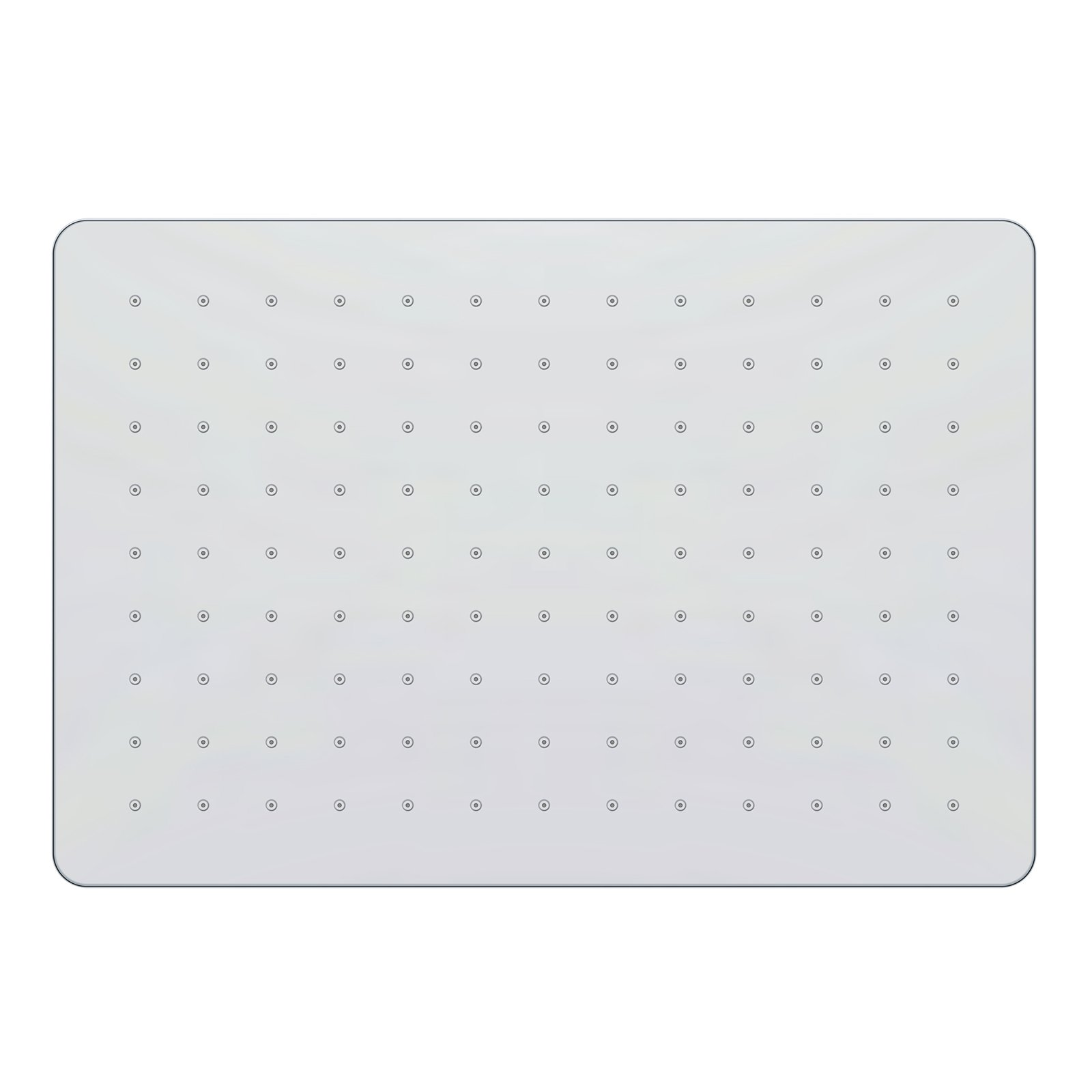 Regendusche ABS-Duschkopf D2517 selbstreinigend - 25 x 17 cm - Farbe wählbar