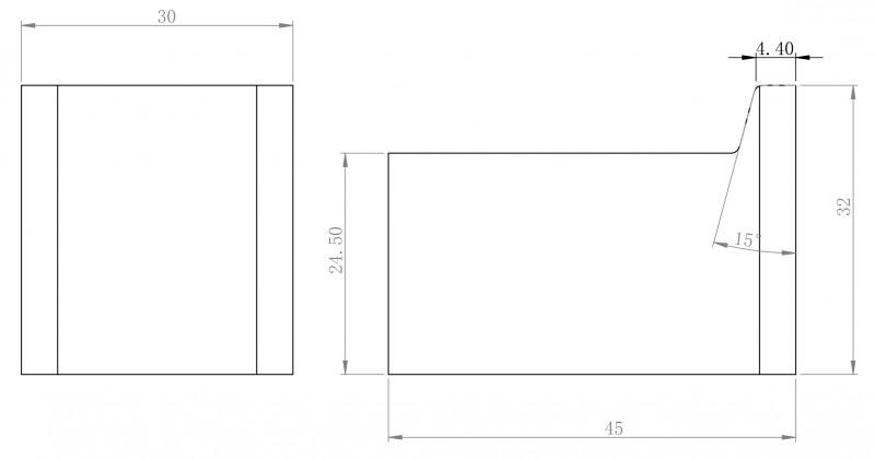Moderner Handtuchhaken SDLHK aus Messing - Serie LINEAR - chrom zoom thumbnail 3