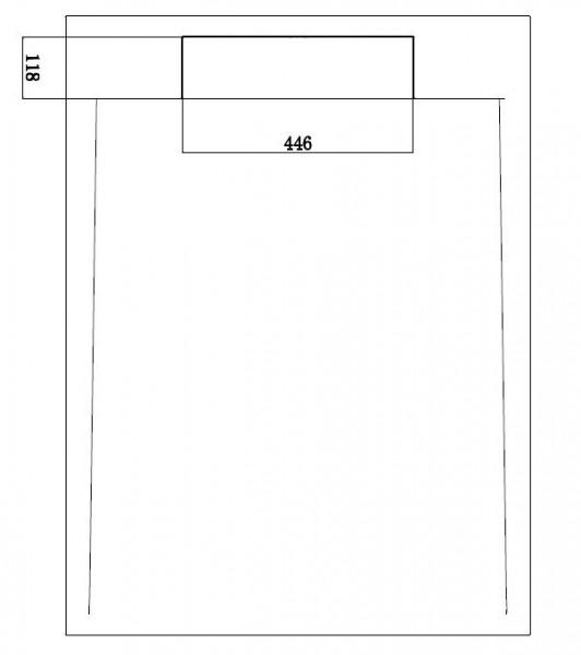 Mineralguss Duschtasse rechteckig M2290CW / PB3085G - Weiß glänzend - 120x90x3,5cm zoom thumbnail 4