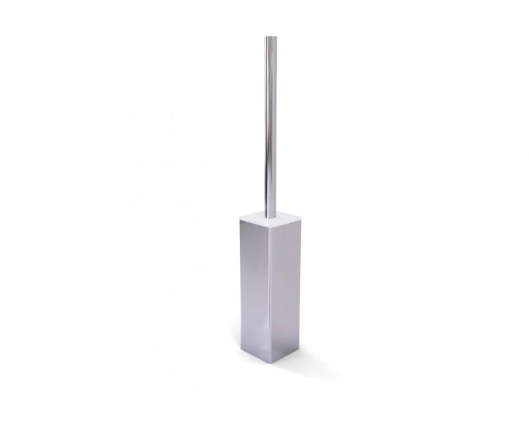 Edler Toilettenbürstenhalter SDLTBH aus Messing - Serie LINEAR - chrom