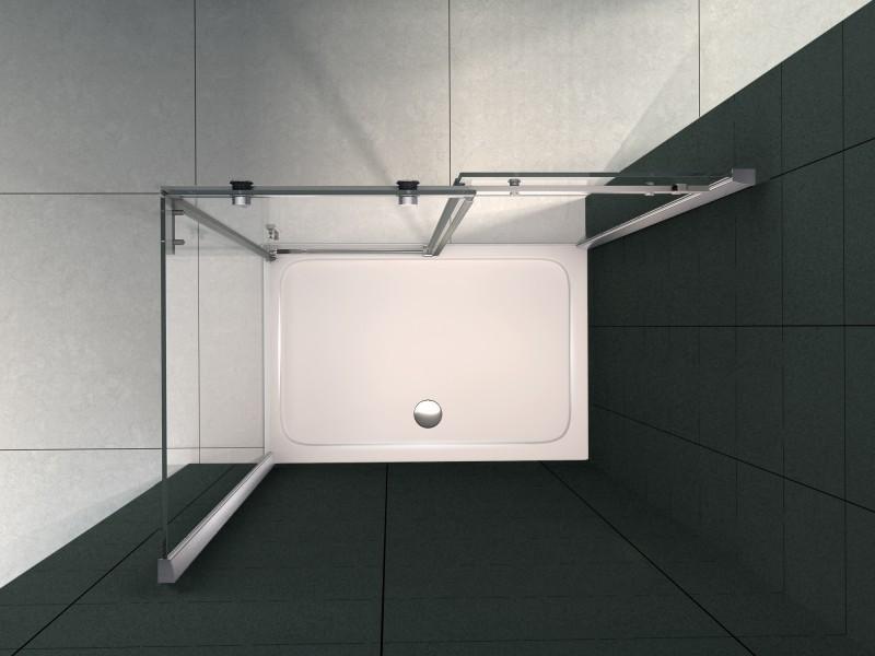 Duschtasse Duschwanne rechteckig - 140x90cm - inkl. Ablaufgarnitur zoom thumbnail 3