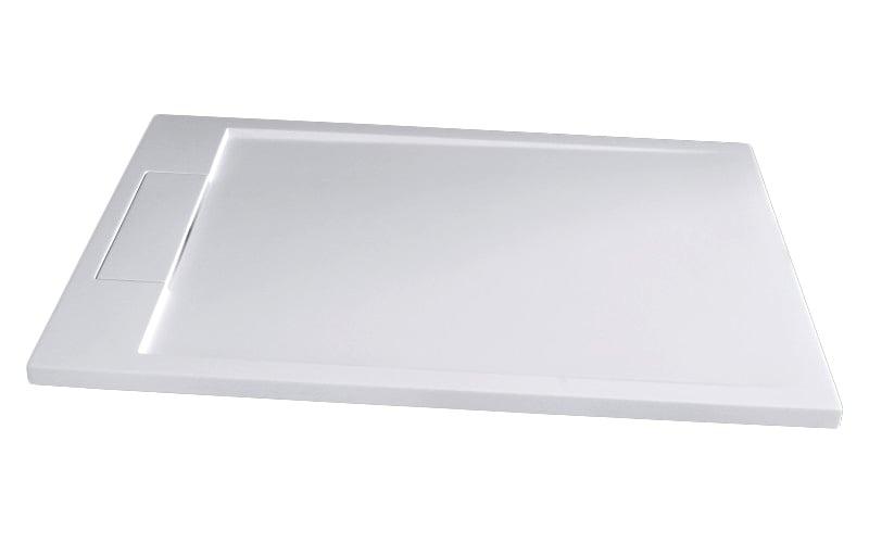 Mineralguss Duschtasse rechteckig M2290CW / PB3085G - Weiß glänzend - 120x90x3,5cm