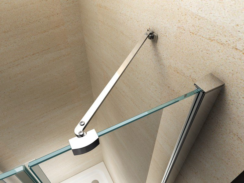 Duschkabine Eckdusche Nano Echtglas EX403 - 100 x 100 x 195 cm