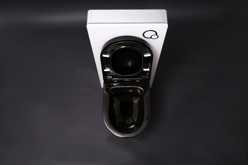 Sanitärmodul 805 für Wand-WC - Weiß - Inkl. Betätigungsplatte zoom thumbnail 5