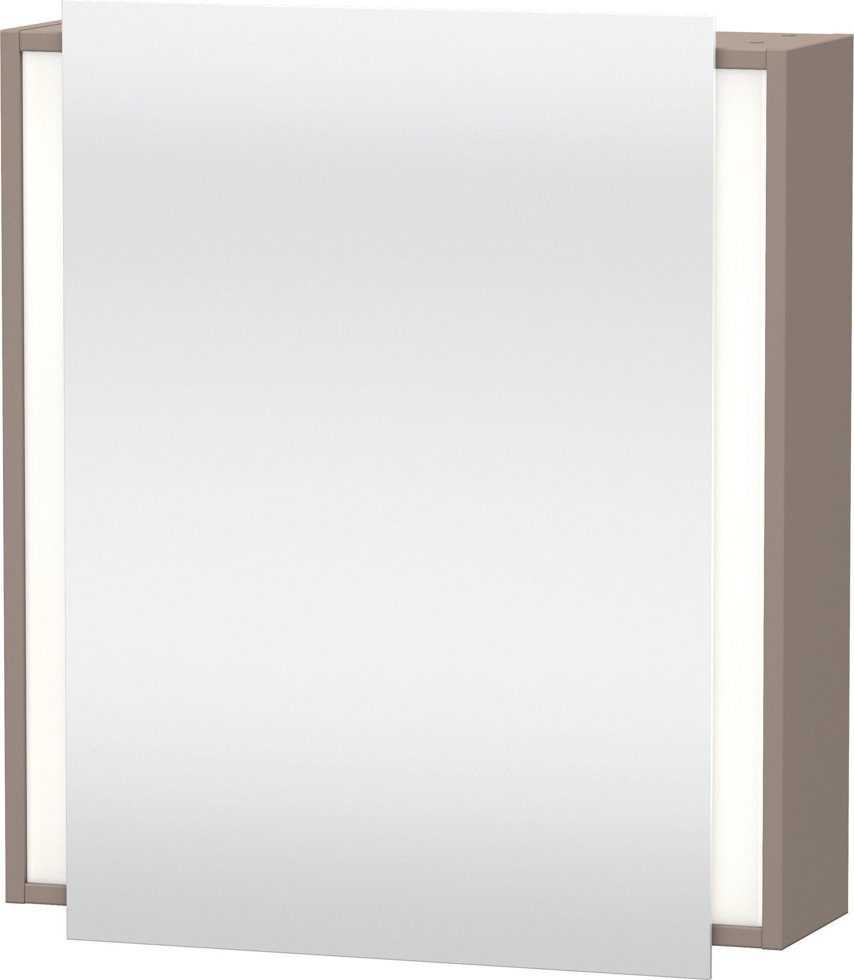 Duravit Ketho Spiegelschrank Basalt  650