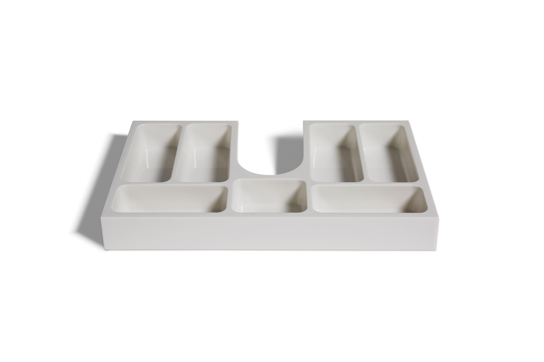 Schubladeneinsatz Kosmetikeinsatz für Badmöbel ab 70 cm Schrankbreite