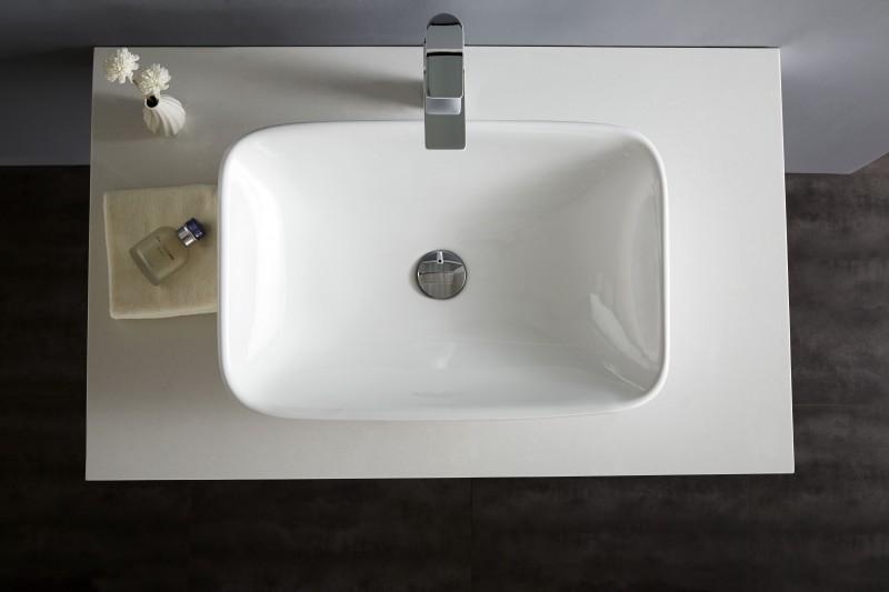 Aufsatzbecken Aufsatz-Waschbecken NT3155 - Badkeramik - 58x38,5cm zoom thumbnail 6