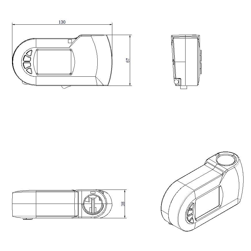 Heizstab elektrisch E700W für Badheizkörper - mit digitalem Thermostat in Weiß zoom thumbnail 4