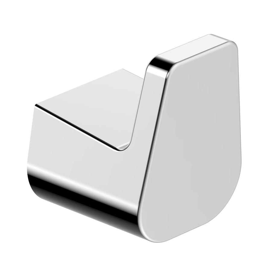 Hochwertiger Handtuchhaken SDEHH – edles Design – Serie ES - chrom