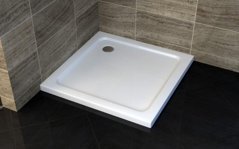 Duschkabine Eckeinstieg Falttür Nano EX213 - 100 x 100 x 195 cm inkl. Duschtasse zoom thumbnail 6