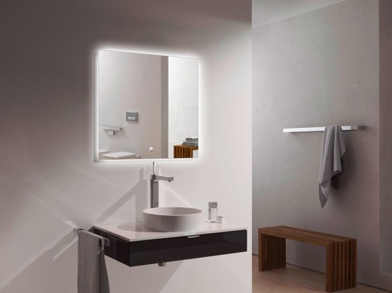 LED Lichtspiegel Badspiegel 2137 - Breite wählbar zoom thumbnail 3