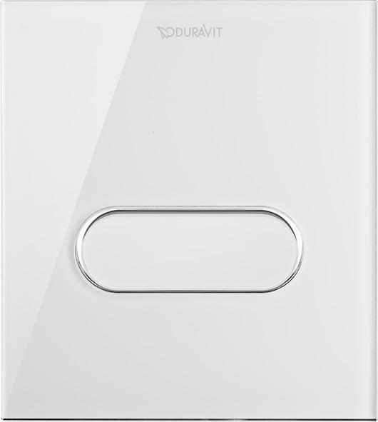 Duravit DuraSystem Betätigungsplatte A1 für Urinal Glas