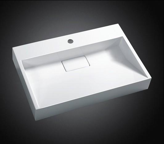 Wandwaschbecken Aufsatzwaschbecken BS6001 - Breite wählbar zoom thumbnail 3