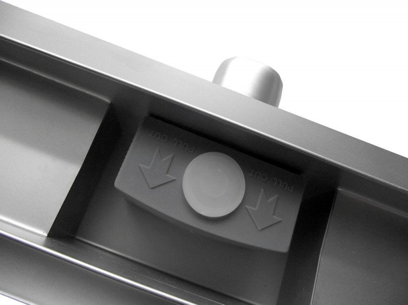 Edelstahl-Duschrinne GT02 für Duschkabine - Länge wählbar