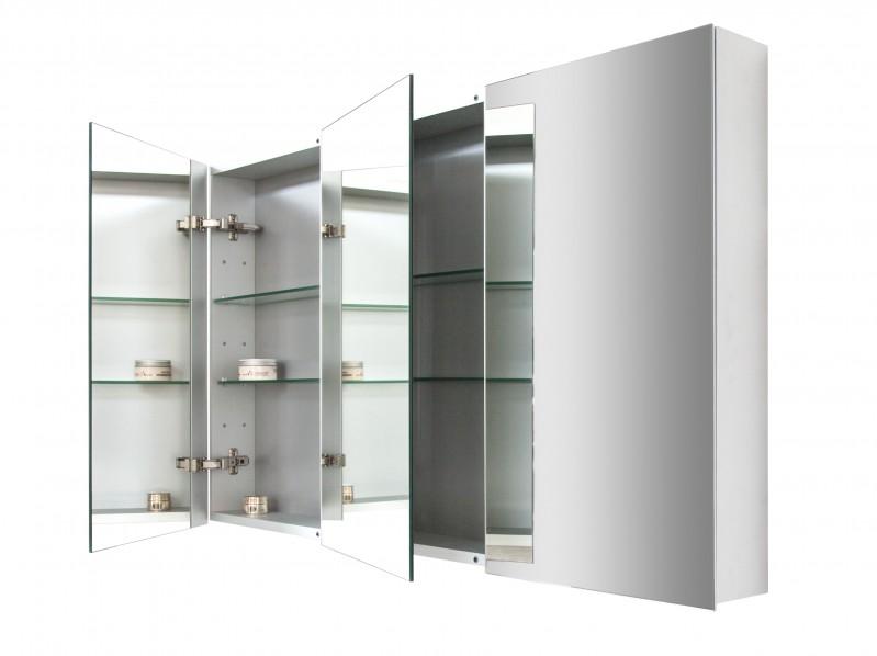 Spiegelschrank Multy BS120 mit Innenverspiegelung - Breite 120cm zoom thumbnail 3