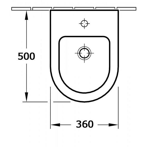 BERNSTEIN Komplettset Wand-Hänge-WC CH101 + Bidet BH101 inkl. Bidetarmatur zoom thumbnail 6