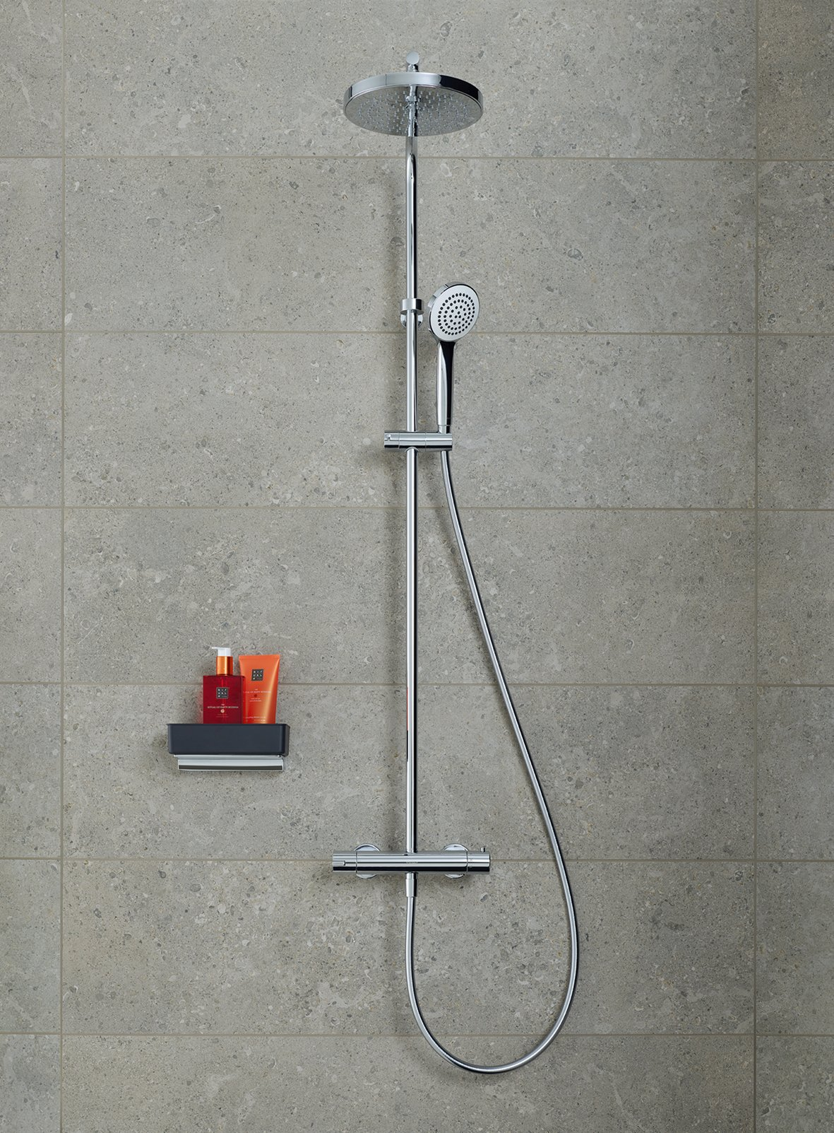 Duravit B.2 Duschsystem Chrom Hochglanz 260