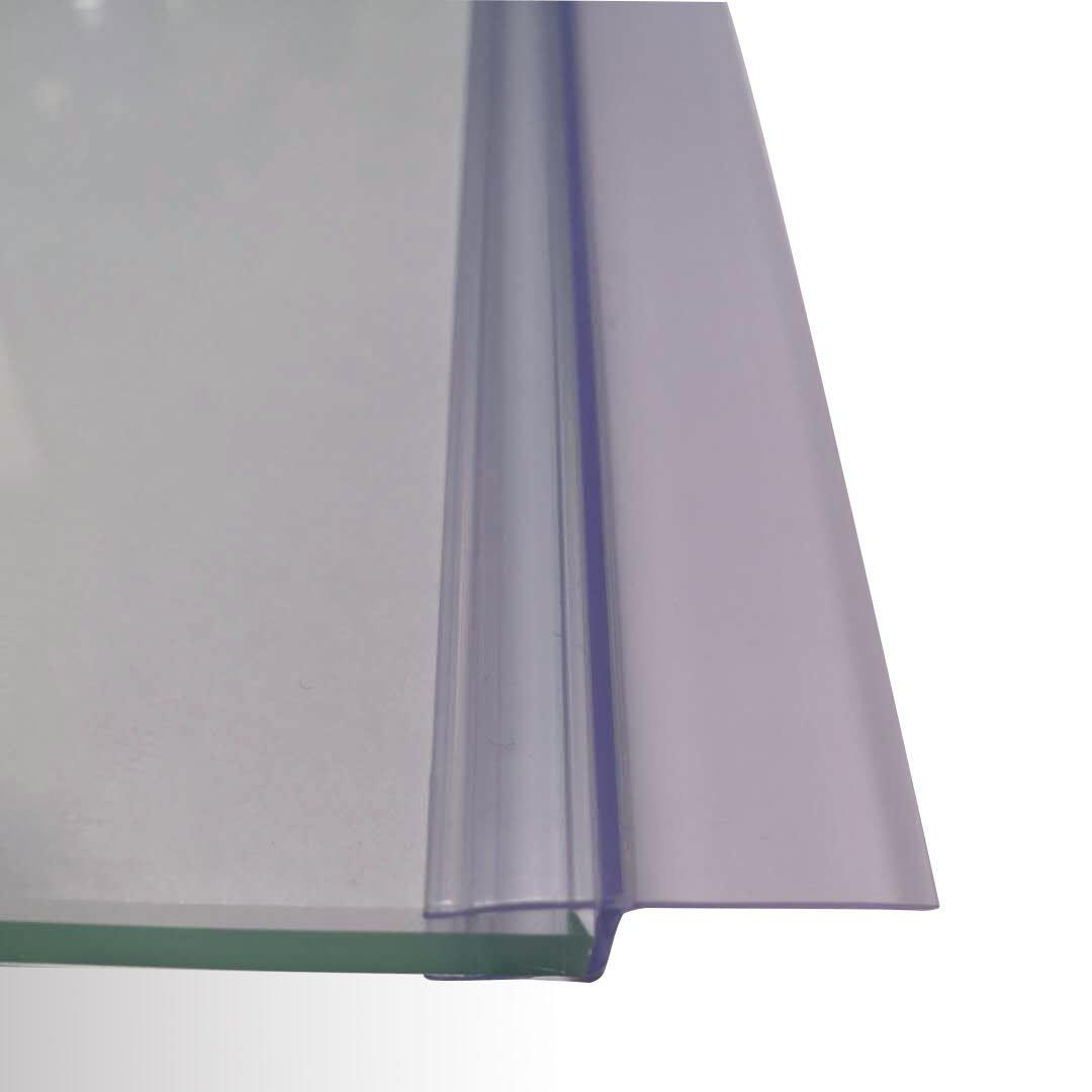 Duschdichtung zwischen den Scharnieren - für div. BERNSTEIN Duschkabinen - Glasstärke 8 mm