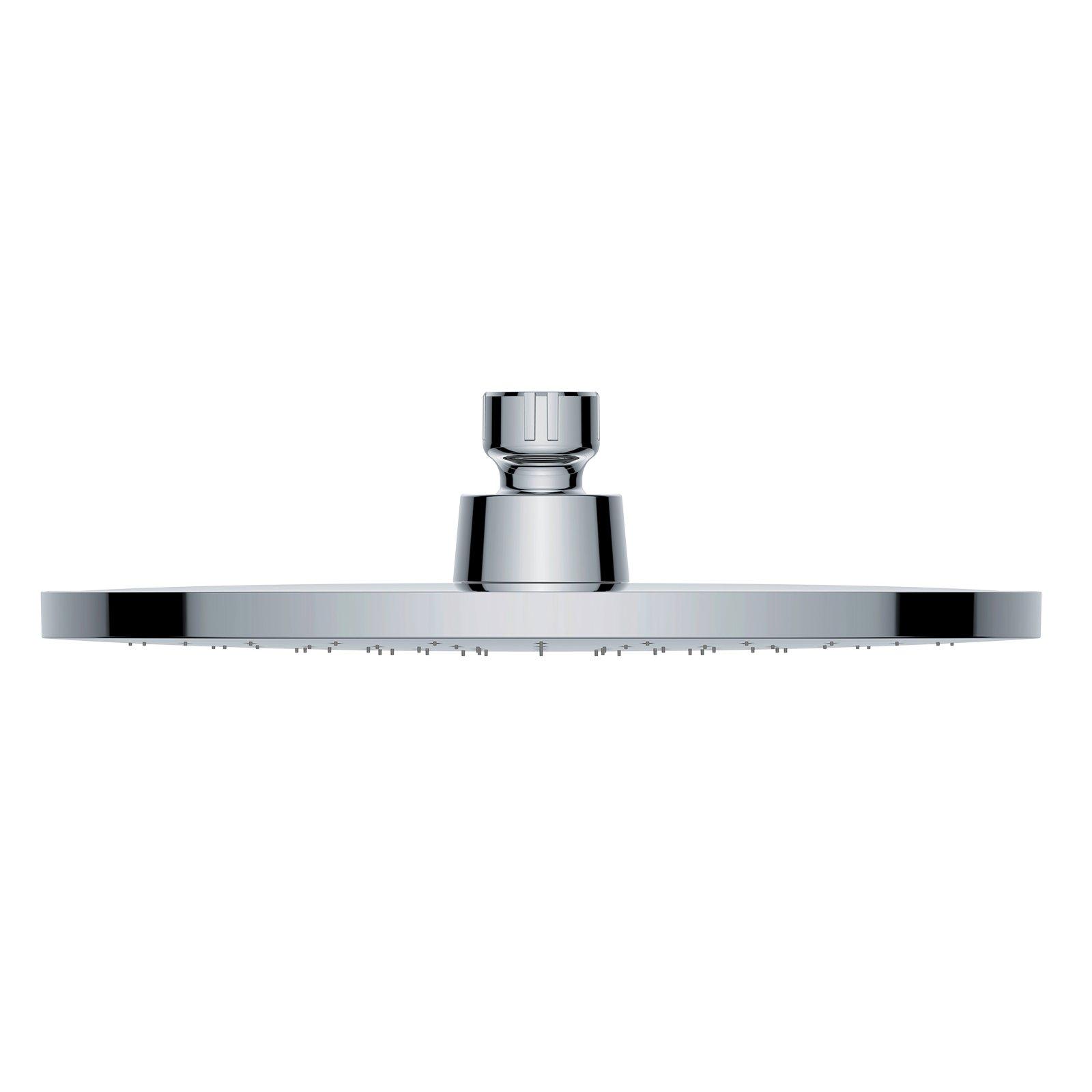 Regendusche ABS-Duschkopf D2250 selbstreinigend - 22,50 cm rund - Farbe wählbar