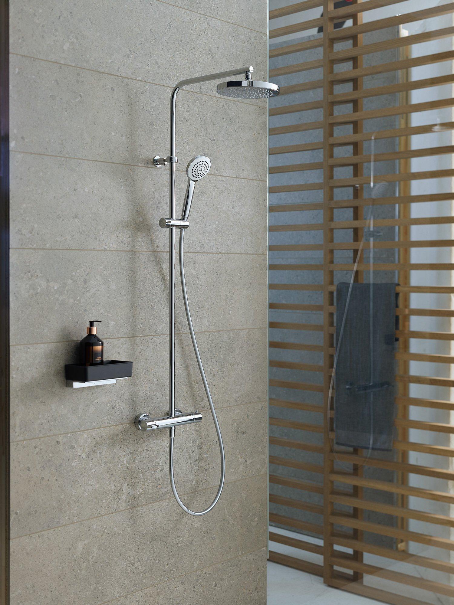 Duravit B.1 Duschsystem Chrom Hochglanz 260