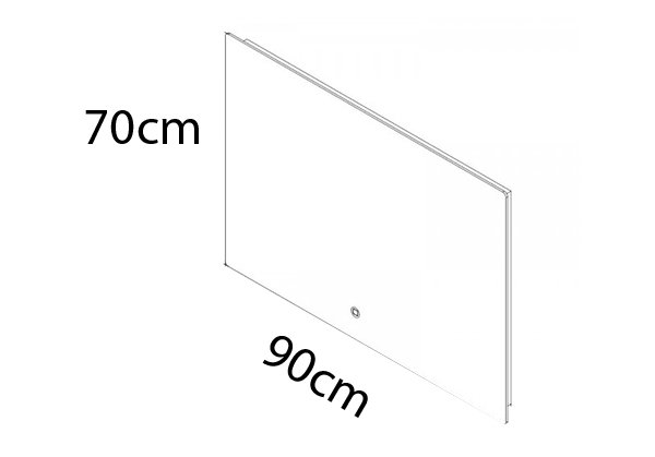 90 x 70 cm