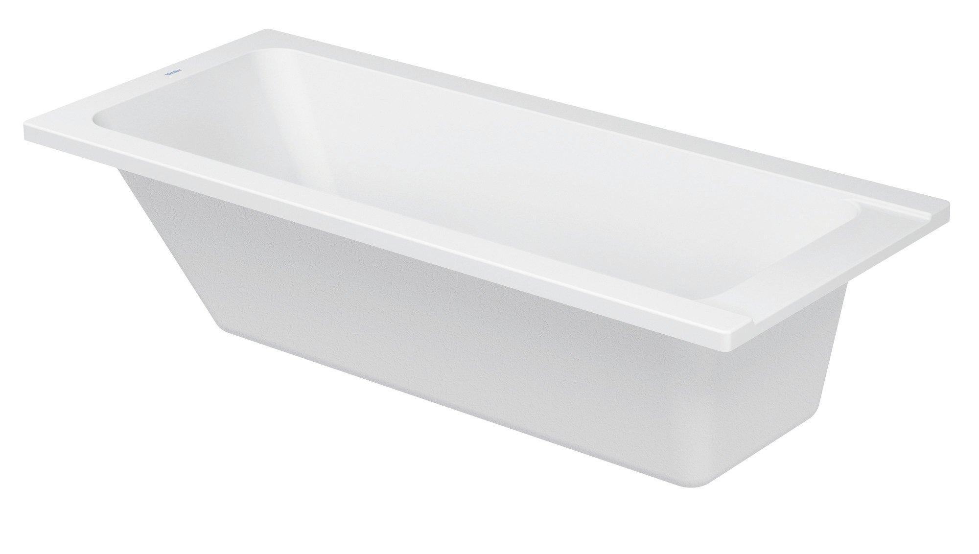 Duravit D-Code Badewanne Weiß  1600