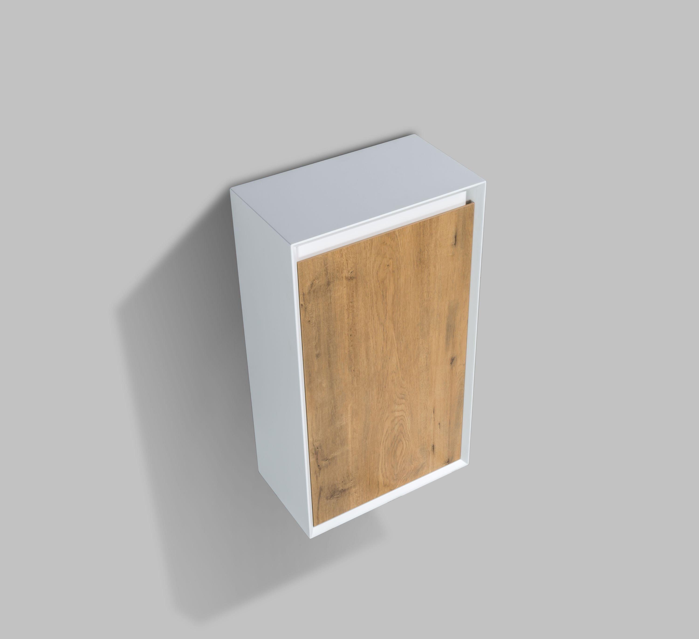 Seitenschrank Fiona - passend zum Badmöbel-Set - Beton-Optik / Eiche-Optik zoom thumbnail 5