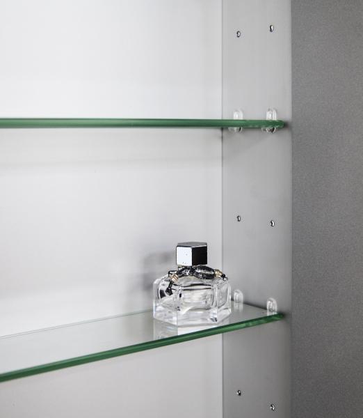 Spiegelschrank Multy BS60 aus Aluminium - Breite 60cm zoom thumbnail 5