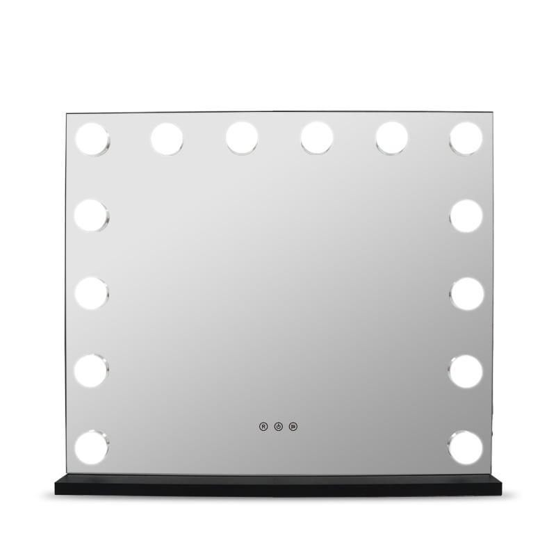 Hollywood Kosmetikspiegel Lichtspiegel E650 inkl. 14 LEDs - Farbe wählbar