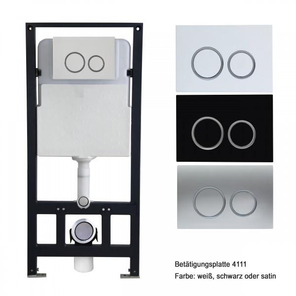WC-Vorwandelement G3004A inkl. Betätigungsplatte - Modell wählbar