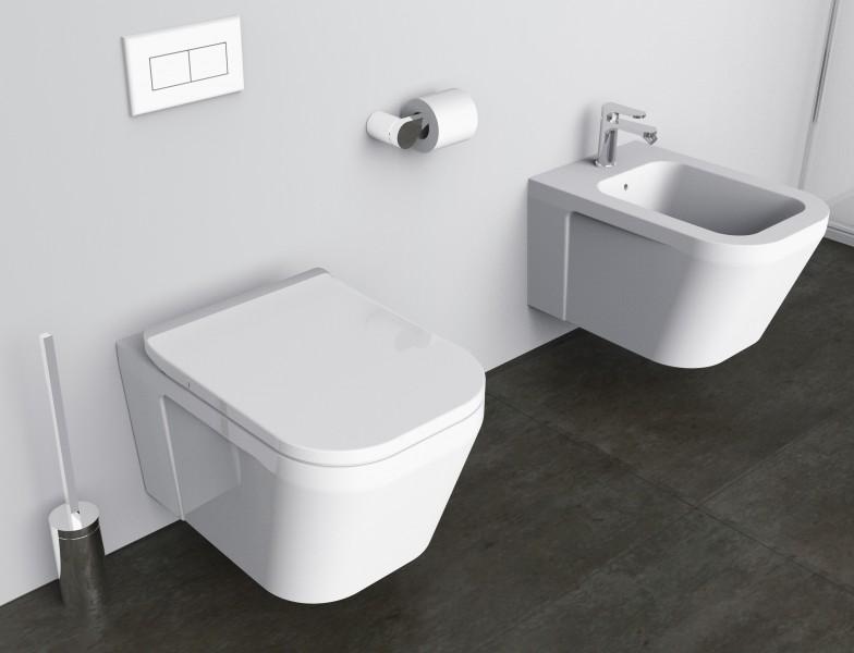 Edler Toilettenbürstenhalter SDVTBH Design rund - Serie VERSA - chrom