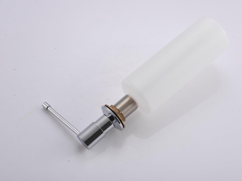 Einbau-Seifenspender D350 mit Metallkopf - Farbe wählbar zoom thumbnail 5