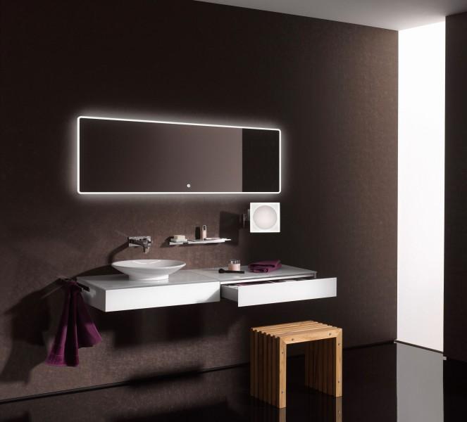 LED Lichtspiegel Badspiegel 2073 - Breite wählbar zoom thumbnail 5