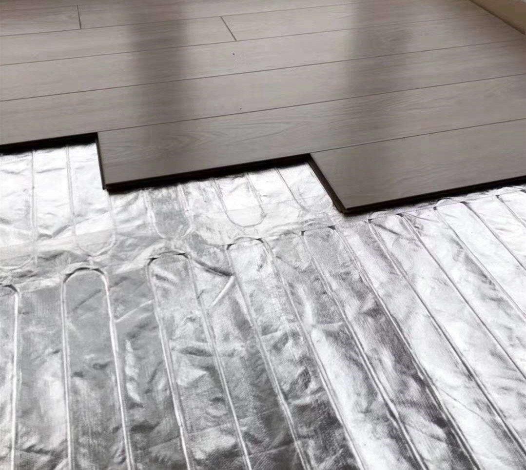 Elektrische Fußbodenheizung für Laminat & Parkett - 1 bis 12 m² mit TWIN-Technologie - 140 Watt/m² zoom thumbnail 3